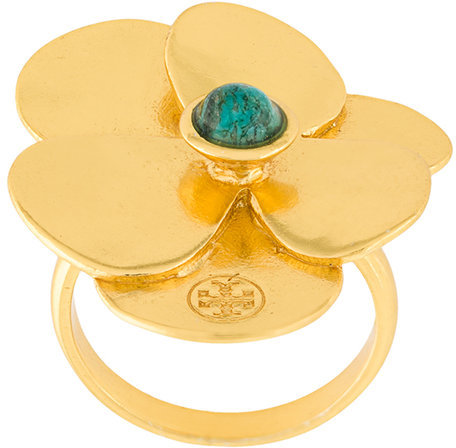 Tory Burch Tory Burch flower petal ring