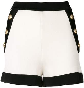Balmain side button shorts