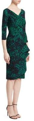 Chiara Boni Florien Print Sheath Dress