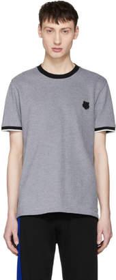 Kenzo Grey Tiger Crest T-Shirt