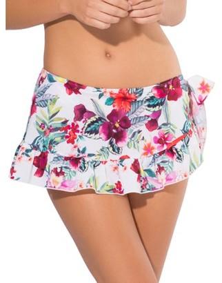 Smart & Sexy Women's Ruffle Skirted Bikini Bottom
