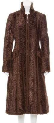 Andrew Gn Textured Long Coat