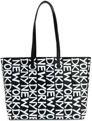 DKNY medium logo shopping bag