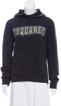 DSQUARED2 Hooded Logo Sweatshirt