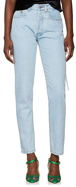 FORTE COUTURE Women's Mum Straight Jeans