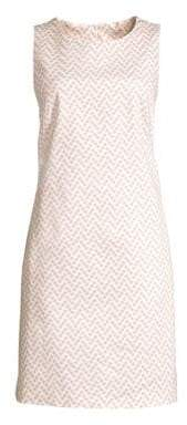 Peserico Polka Dot Sleeveless Shift Dress
