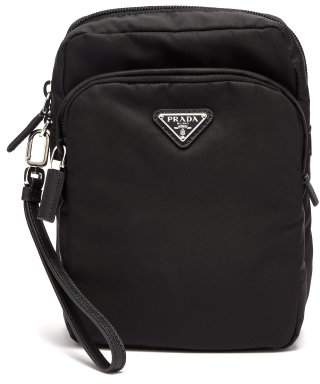 Prada Black Nylon Camera Bag - Mens - Black