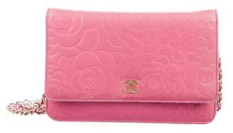 Chanel Camellia Wallet On Chain Fuchsia Camellia Wallet On Chain