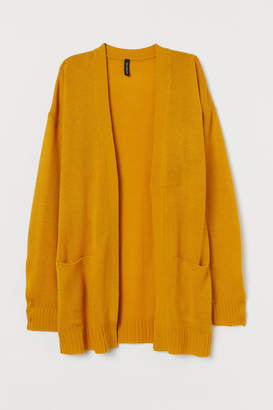 H&M Knit Cardigan - Yellow