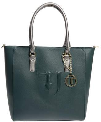 Trussardi Ischia Saffiano Faux Leather Tote Bag