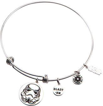 Star Wars FINE JEWELRY Stainless Steel Stormtrooper Charm Expandable Bracelet
