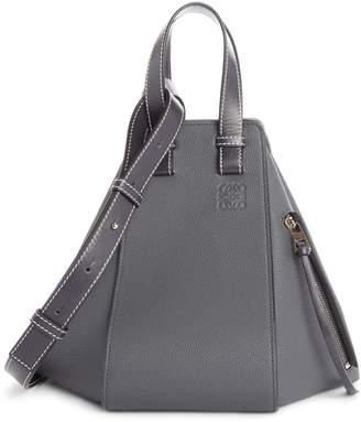 Loewe Small Hammock Pebbled Leather Hobo