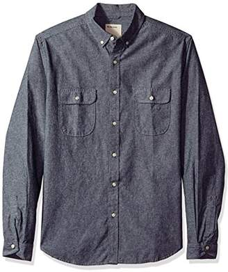 Life After Denim Men's Long Sleeve Slim Fit Scout Cotton Chambray Shirt