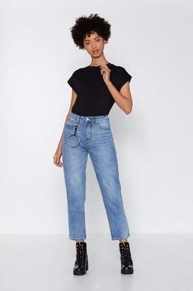Nasty Gal Ring Leader Mom Jeans