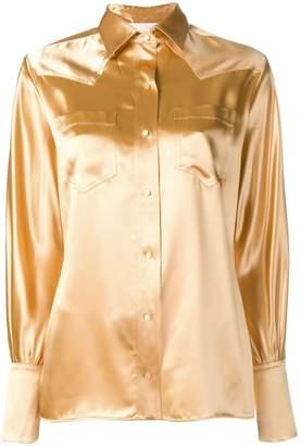 Chloé metallic Western shirt