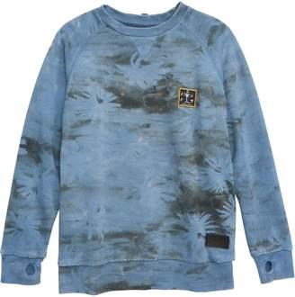 Munster Camo Palm Print Crewneck Sweatshirt