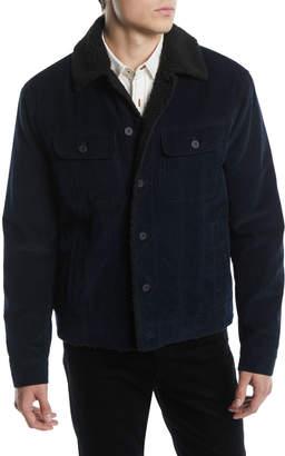Vince Men's Corduroy Trucker Jacket