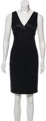Ralph Lauren Black Label Knee-Length Wool Dress