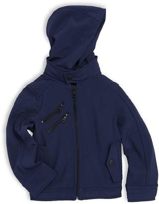 Urban Republic Little Boy's Removable Hooded Moto Jacket