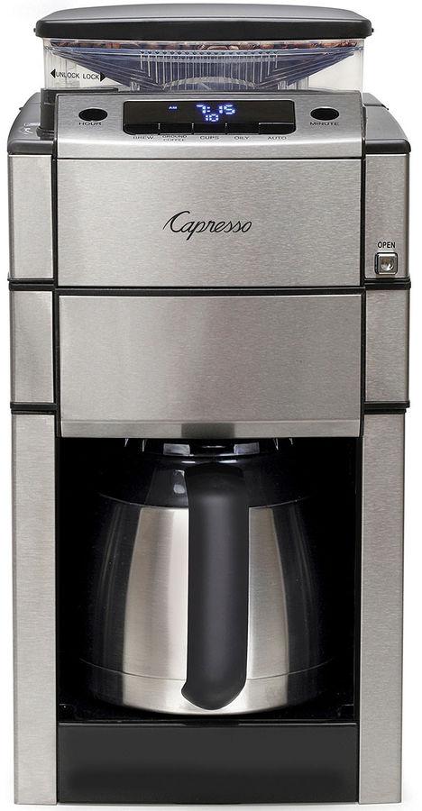 Capresso CoffeeTEAM PRO Therm Coffee Grinder & Maker