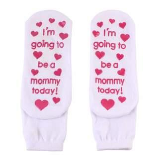 76de5a5547ff2 Bebogo Pack of 3 Womens Hospital Non Slip Maternity Funny Letter Socks  Pregnant Casual Socks