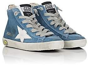 Golden Goose Kids' Francy Suede Sneakers - Blue