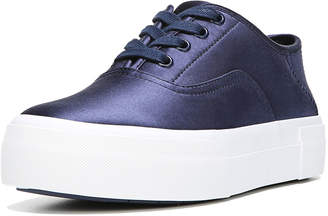 Vince Coply Satin Lace-Up Sneakers, Navy