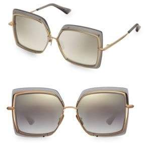 Dita Eyewear Narcissus 58MM Square Sunglasses