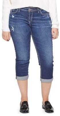 Silver Jeans Suki Capri Jeans