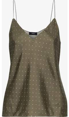 Theory Printed Silk Camisole