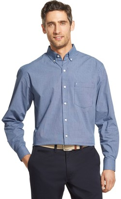 Izod Men's Premium Essentials Classic-Fit Button-Down Shirt