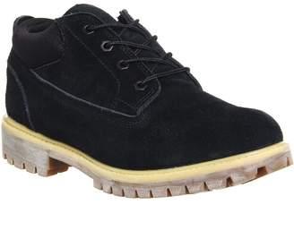 Timberland Wp Ox X Publish Shoe Black Wheat Nubuck