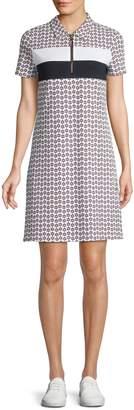 Tommy Hilfiger Floral-Print Polo Dress
