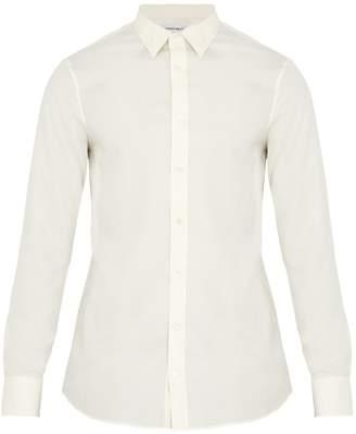 Alexander McQueen Single-cuff silk shirt
