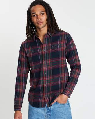 RVCA Ludlow Flannel LS Shirt