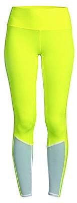 Alo Yoga Women's High-Waist Neon Trainer Leggings