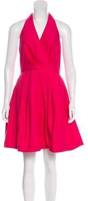 Halston Halter Knee-Length Dress