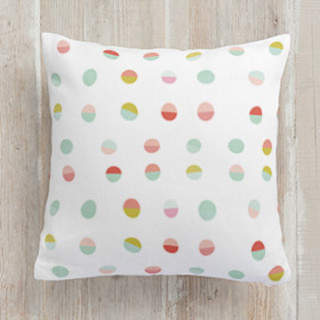 GeoCircles Square Pillow