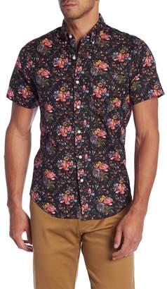 J.Crew J. Crew Regular Fit Stretch Secret Wash Floral Print Sport Shirt