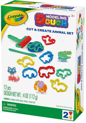 Crayola Cut And Create Animal Modeling Dough Kit
