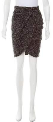 Emporio Armani Tweed Knee-Length Skirt