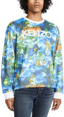 Kenzo World All Over Print Sweatshirt