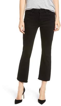 DL1961 Lara Instasculpt High Waist Crop Flare Jeans