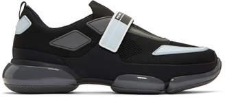Prada Black and Grey Cloudbust Sneakers