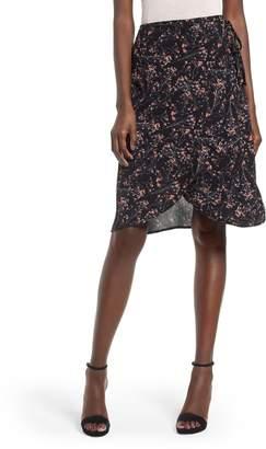 LIRA Wrap Me Up Print Wrap Skirt