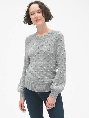 Gap Bobble Stitch Crewneck Pullover Sweater