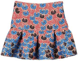 Stella Jean Floral Printed Neoprene Skirt