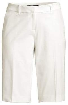 Lafayette 148 New York Women's Manhattan Slim-Fit Bermuda Shorts