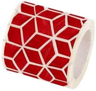 """Mela Artisans Marsala Red Napkin Ring """"Starshine"""""""
