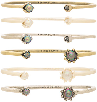 Kendra Scott Kadence Bangle Set $140 thestylecure.com